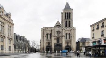 Basílica de Saint-Denis nos arredores de Paris