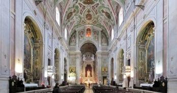 Basílica de Nossa Senhora dos Mártires no Chiado, Lisboa, Portugal