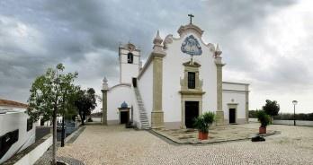 Igreja de São Lourenço em Almancil, Algarve, Portugal