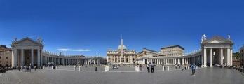 Praça de São Pedro no Vaticano