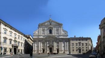 Igreja de Gesù em Roma, Itália