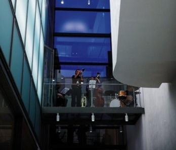 Fundação Caixa Galícia em La Coruña