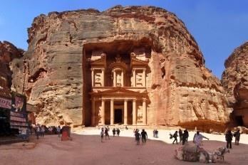 """""""O Tesouro"""", Petra, Jordânia"""
