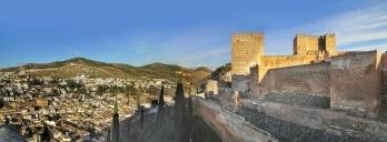 Fortaleza Palaciana de Alhambra, Granada, Espanha