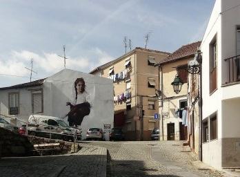 Arte urbana em Covilhã