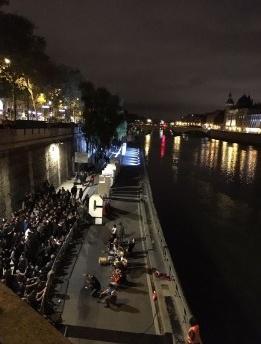 Espectros da Noite Branca de Paris 2017