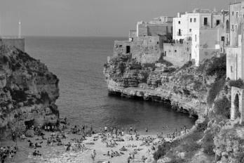 Grotta del Palazzo em Polignano a Mare, Itália