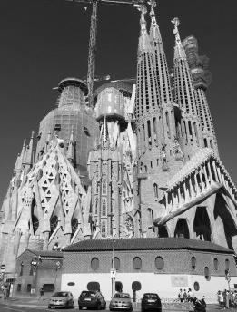 Gaudí, a Sagrada Familia e o turismo