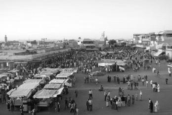 Um livreiro em Marrakesh
