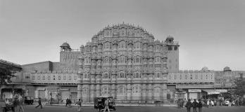 Hawa Mahal, ou Palácio dos Ventos, em Jaipur, Índia