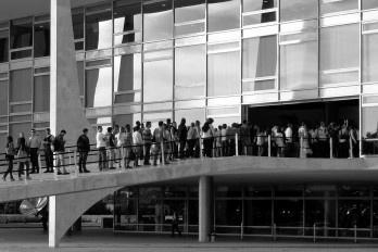 Velório de Oscar Niemeyer em Brasília