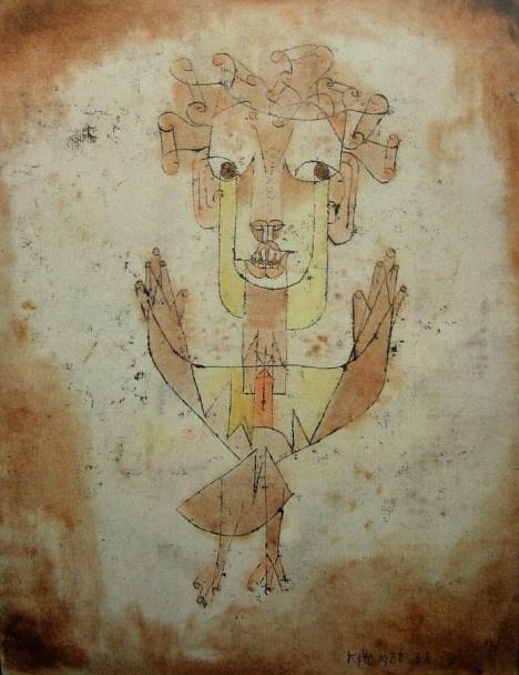 Paul Klee, Angelus Novus, 1920