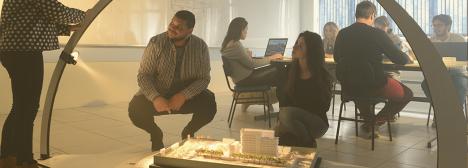 Alunos do curso de Arquitetura e Urbanismo da Universidade de Passo FundoFoto divulgação  [Website Universidade de Passo Fundo]