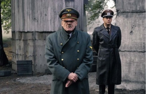 Bruno Gantz como Hitler, cena do filme A Queda! As Últimas Horas de Hitler (Der Untergang), direção de Oliver Hirschbiegel, 2005Foto divulgação