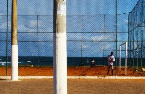 Bairro do Rio Vermelho, quadra de esporte, SalvadorFoto Márcio Correia Campos