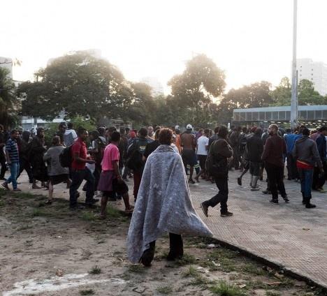 Dependentes químicos se deslocam para outras regiões do centro de São PauloFoto Tommaso Protti