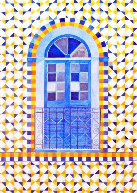 Pintura de Atalie Rodrigues AlvesImagem divulgação