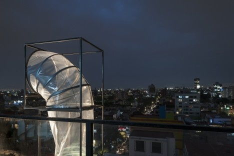 Subsolanus, Cidade do México, 2015-2016. Arquitetos Anna Juni, Enk te Winkel e Gustavo Delonero (Vão Arquitetura) + Marina CanhadasFoto Luis Gallardo  [LGM Studio]