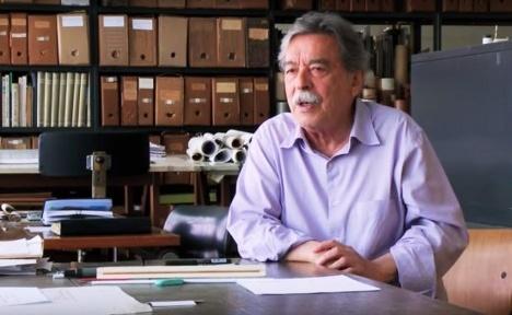Paulo Mendes da Rocha no filme PMR 29' – vinte e nove minutos com Paulo Mendes da Rocha Foto divulgação
