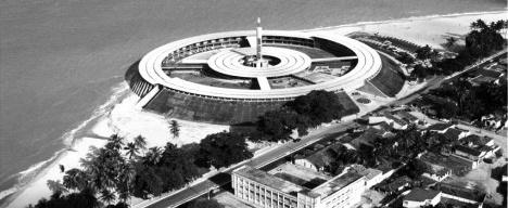 Vista aérea do Hotel TambaúFoto divulgação  [Arquivo do Hotel Tambaú]