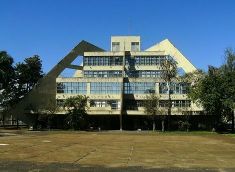 Biblioteca Municipal, Praça Cívica, São José do Rio Preto Foto Alexandre de Freitas