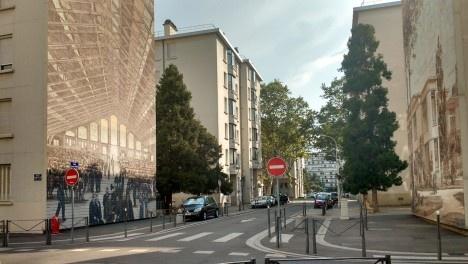 Painéis do Museu Urbano Tony Garnier, Lyon, FrançaFoto Maria Isabel Imbronito, 2019