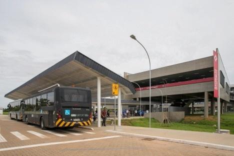 Estação Aeroporto-Guarulhos, linha 13 Jade da CPTM, Guarulhos SP, 31 mar. 2018Foto divulgação  [Governo do Estado de São Paulo]