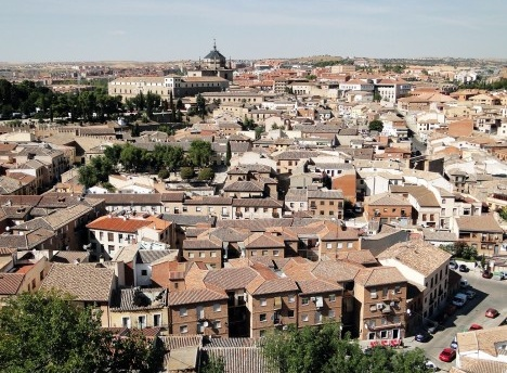 Bairro de Antequeruela, Toledo, EspanhaFoto Bernard Gagnon  [Wikimedia Commons]
