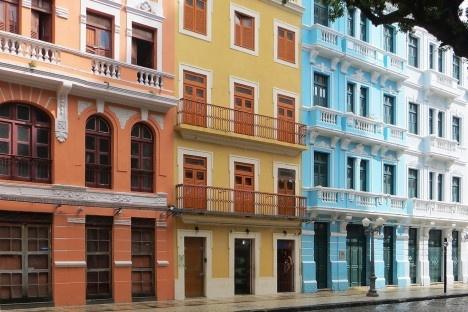 Rua do Bom Jesus - Recife Antigo - Recife, Pernambuco, BrasilFoto Jorge Brazil  [Wikimedia Commons]