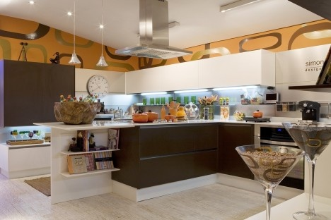 Cozinha gourmet, projeto de Simone GoltcherFoto divulgação