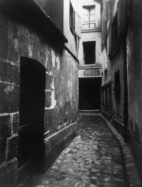 Igreja Saint-Séverin, entrada do presbitério. 2 rue de la Parcheminerie, Paris, 1912Foto Eugène Atget  [Library of Congress, Prints & Photographs Division,  [Reproduction number e.g., LC- USZ62-]