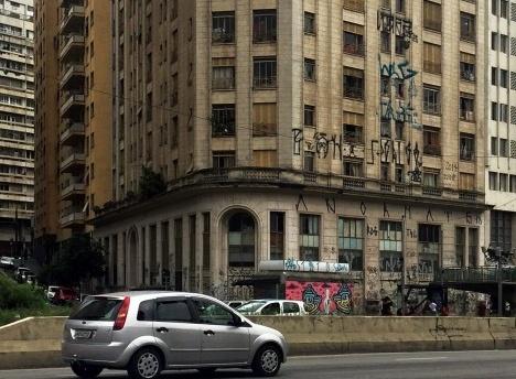 Fachada do edifício Rizkallah Jorge, São Paulo, 2017Foto Luiz Fernando de Azevedo Silva