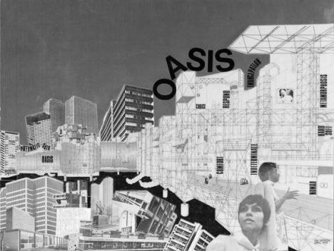 Oasis, Ron Herron/Archigram, 1968Imagem divulgação