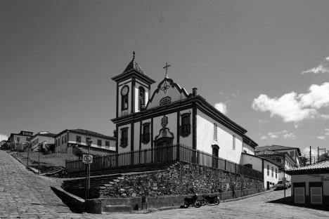 Igreja de São Francisco de Assis, Diamantina MG Foto Jeff Britto  [Wikimedia Commons]