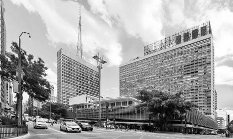 Conjunto Nacional, arquiteto David LibeskinFoto Victor Hugo Mori