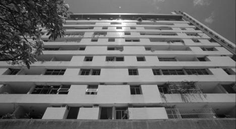 Edifício Villa Cristina, Recife PE Brasil, 1978. Arquiteto Wandenkolk TinocoFotograma do documentário Wandenkolk