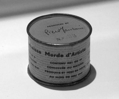 Merda D'artista (1961), de Piero ManzoniFoto Jens Cederskjold, CC BY 3.0