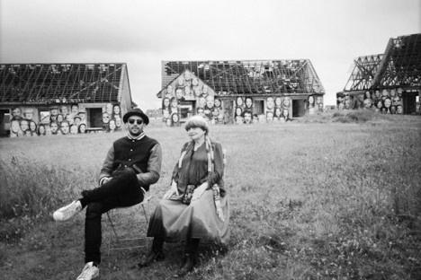 Fotograma de Visages, Villages, filme de Agnès Varda e JRFoto divulgação