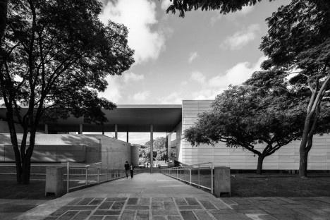 Biblioteca Brasiliana USP, São Paulo, 1999-2013. Arquitetos Eduardo de Almeida e Rodrigo Mindlin LoebFoto Nelson Kon