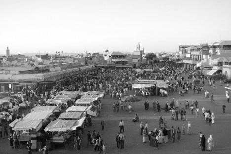 Medina de Marrakesh, MarrocosFoto Unesco  [Wikimedia Commons]