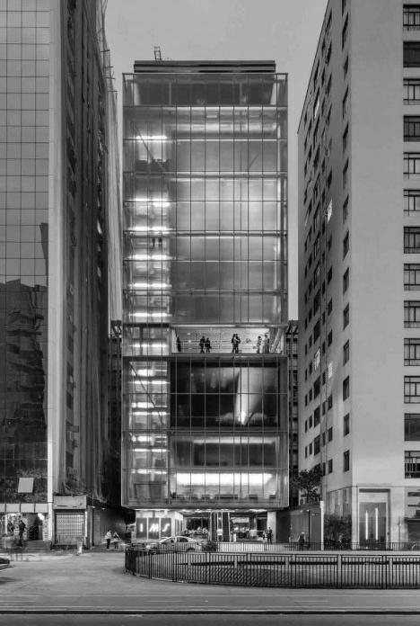 Sede do Instituto Moreira Salles, São Paulo. Arquitetos Vinicius Andrade e Marcelo MorettinFoto Nelson Kon