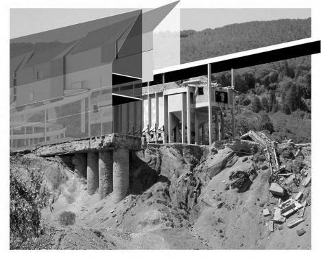 Necessidade monumental na paisagem do abandonoNecessitá monumentale nel paesaggio dell'abbandono