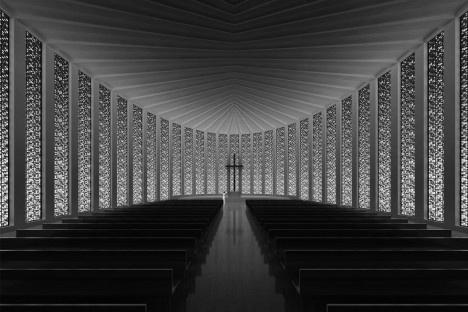 Igreja Protestante de Luoyuan, vista interior.Dirk U. Moench