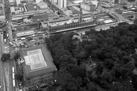 Pinacoteca do Estado, Estação da Luz e Parque da Luz, São PauloFoto Nelson Kon