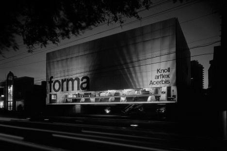 Loja Forma, São Paulo, 1987. Arquiteto Paulo Mendes da RochaFoto Nelson Kon