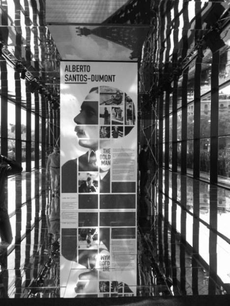 Exposição Santos Dumont Arco della Pace, Milão [Foto Giovanna Rosso Del Brenna]