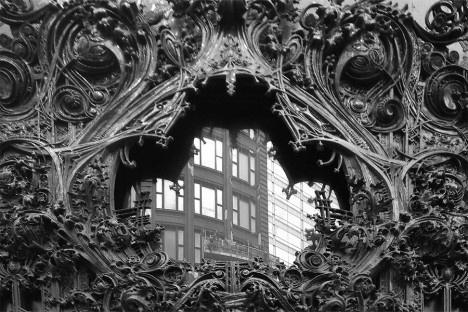 Louis Sullivan Carson Pirie & Scott, detalhe, Chicago, 1902-1904Foto Fernando Diniz Moreira