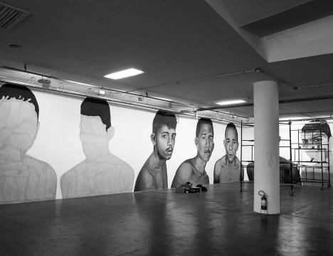 """Ensaio """"Bienal em montagem""""Essay """"Biennale in Assembly""""Foto Tommaso Protti"""