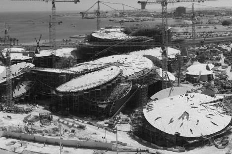 Museu Nacional do Qatar/National Museum of Qatar, 2012-2014. Arquiteto/Architect Jean Nouvel. Consultoria/Consulting Werner Sobek GroupMuseu Nacional do Qatar/National Museum of Qatar, 2012-2014. Arquiteto/Architect Jean Nouvel. Foto/Photo Werner Sobek