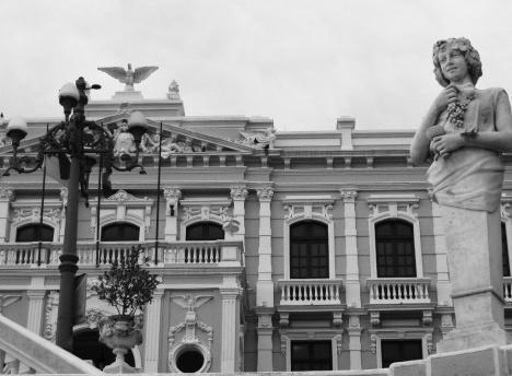 Palácio Anchieta, Cidade Alta, Vitória ES, tombado em 1983 pelo Conselho Estadual de CulturaFoto Brunovix  [wikimedia commons]
